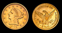 2.5 Dollar Gold Liberty - Quarter Eagle